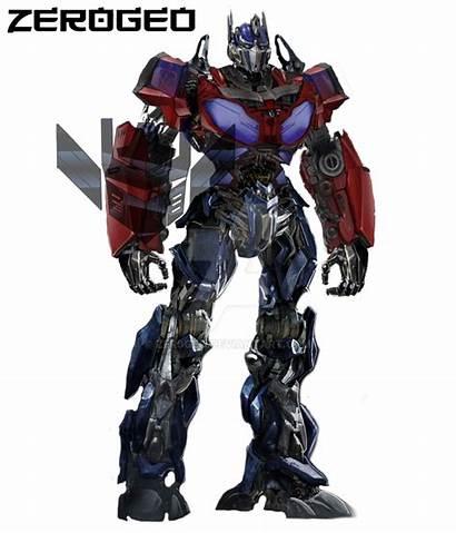 Transformers Cybertron Concept Movie Optimus Zer0geo
