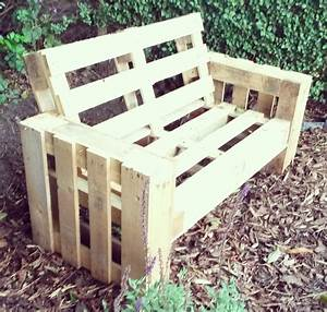 Diy pallet sofa 4 steps with pictures for Building a pallet sectional sofa