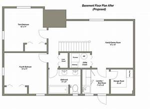 2 bedroom house plans with basement elegant best 25 With pictures of floor plans to houses