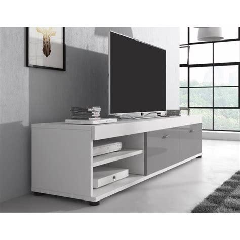 meuble tv 140 cm meuble tv gris laque achat vente meuble tv gris laque pas cher soldes d 232 s le 10 janvier
