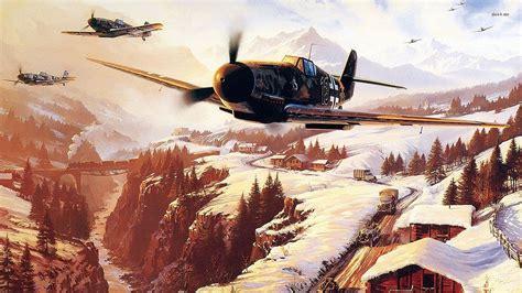 Hd Ww2 Plane Wallpapers Wallpapersafari
