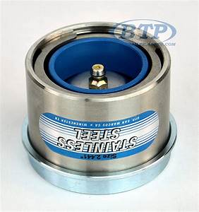 Stainless Steel Trailer Bearing Buddy Protector 2 441 6 Lug Hubs