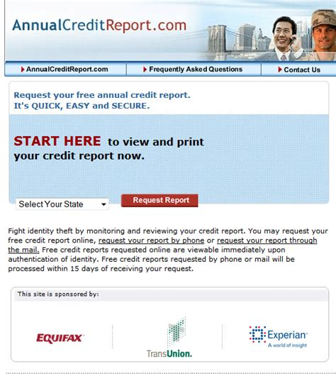 tips annualcreditreport for three free credit