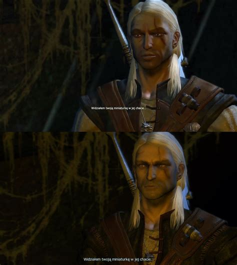 i can t stand looking at witcher 1 geralt s witcher