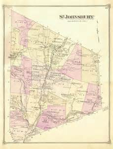 Map of Vermont Caledonia County VT