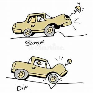 Nid De Poule Route : voiture heurtant la bosse et le nid de poule dans la route illustration de vecteur ~ Medecine-chirurgie-esthetiques.com Avis de Voitures
