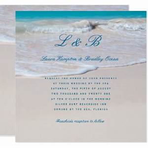destination wedding invitations announcements zazzle With tropical wedding invitations canada