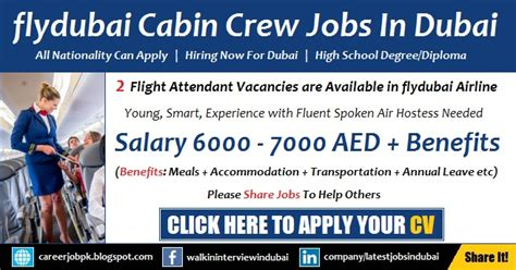 cabin crew opportunities flydubai cabin crew 2019 advertisement apply