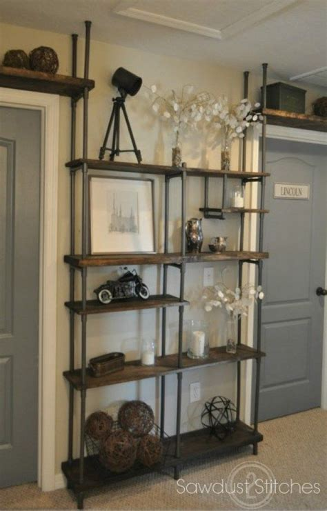 ways  organize  pvc pipes decor interior shelves