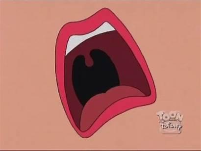 Mouth Uvula Gfycat Throat Animated Screaming Sabrina