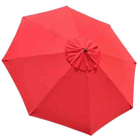 thediyoutlet  ft patio umbrella replacement canopy  rib