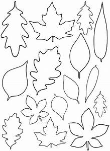diy paper leaves free leaf template With autumn leaf template free printables
