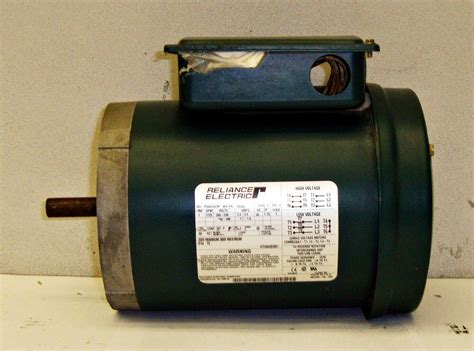 Reliance Electric Motors by Sls1b12 Reliance Electric Motor 1725rpm 1hp Id P56h1441h