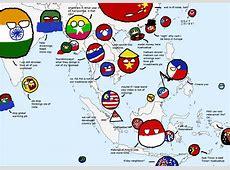 Polandball map of Italy polandball