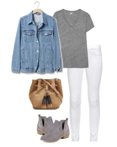 6 Denim Jacket Outfit Ideas for Spring | Mom Fabulous