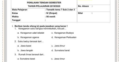 Sistem reproduksi manusia from the story biologi smp: Contoh Soal PTS Kelas 4 Tema 7 Terbaru 2020 - Info ...