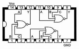 Logic Gates Pin Diagram