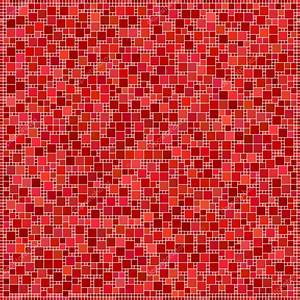 Red square mosaic pattern background — Stock Vector ...