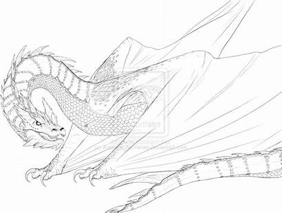 Smaug Drawing Deviantart Dragon Armanie Zacharias Hobbit