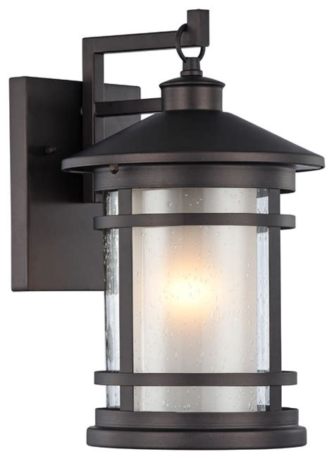 adesso transitional 1 light black outdoor wall sconce 14