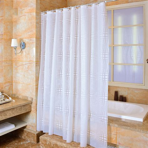 home bath decor shower curtain waterproof wide