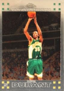 top kevin durant rookie cards buying guide