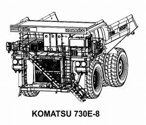Komatsu 730e-8 Dump Truck Service Repair Manual   Field Assembly Manual