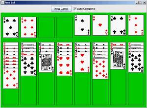 Java Example FreeCell