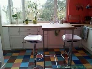 Table Haute Bois Metal : table haute bois metal atelier passion du bois ~ Teatrodelosmanantiales.com Idées de Décoration