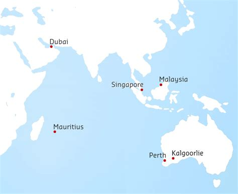 campus locations   curtin located global