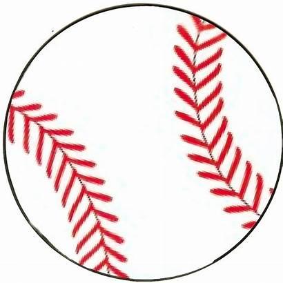 Baseball Template Bulletin Clipart Clip Cliparts Printable