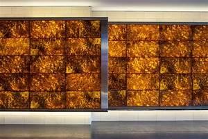 Backlit Onyx Panels Illuminated Translucent Surfaces