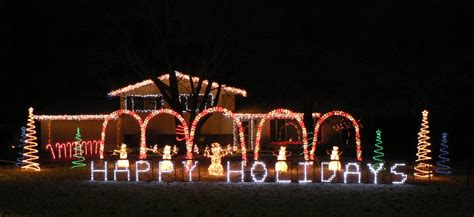 synchronized christmas lights