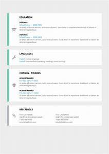 le marais free modern resume template With free resume templates docx