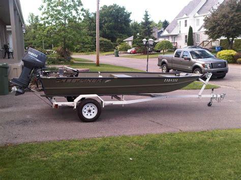 Layout Boat A Vendre by Bateau Crestliner Jon Boat 16 A Vendre Vendue