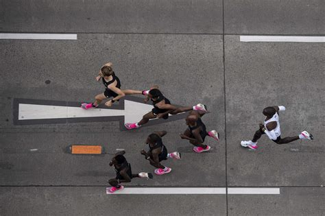kipchoges incredible marathon record  numbers