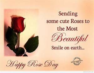 Sending Some Cute Roses To The Most Beautiful Smile On ...