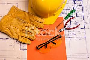 Construction  Safety Manual And Workman U0026 39 S Tools On Stock