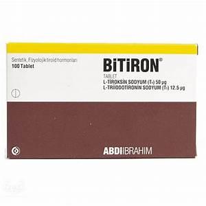 Bitiron T3 T4 100tabs Pharmaceutical