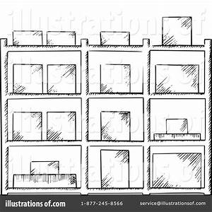 Warehouse Clipart #1349614 - Illustration by Vector ...