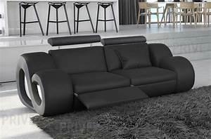 canape 2 places en cuir superieur luxe haut de gamme With canape cuir italien haut gamme