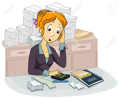 Accounting Clipart Clipart Accountant Pencil And In Color