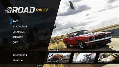 Race Icon Ui Concept Behance Racing Menu