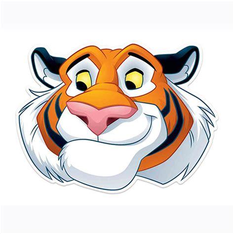 Disney Aladdin Rajah Tiger Cardboard Face Mask for ...