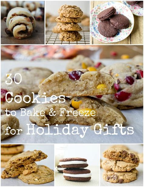 It is so easy to make freezable christmas cookies and have them ready for you and waiting. How to Bake and Freeze Cookies for Holiday Gifts (and 30 ...