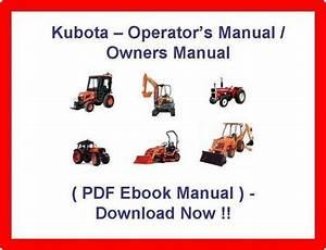 Kubota L3240 L3540 L3940 L4240 L4740 L5040 L5240 L5740