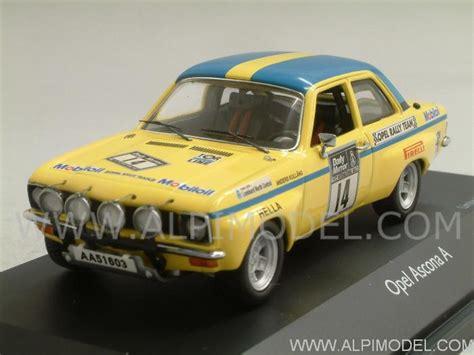 schuco Opel Ascona A #14 RAC Rally 1972 Kullang - Karlsson ...