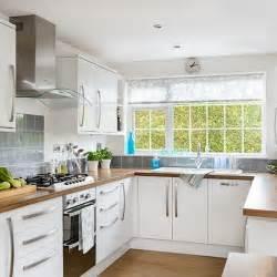 House To Home Kitchen by White U Shaped Kitchen Decorating Housetohome Co Uk