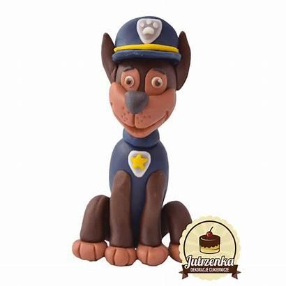 Psi Patrol Chase Figurka Bajki Cukrowa Figurki