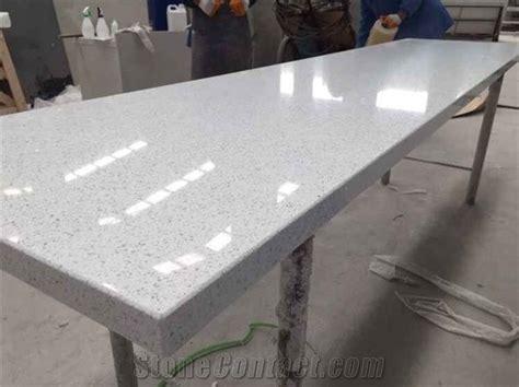 Sparkle Quartz Countertops by Sparkle White Quartz Kitchen Countertop Starlight